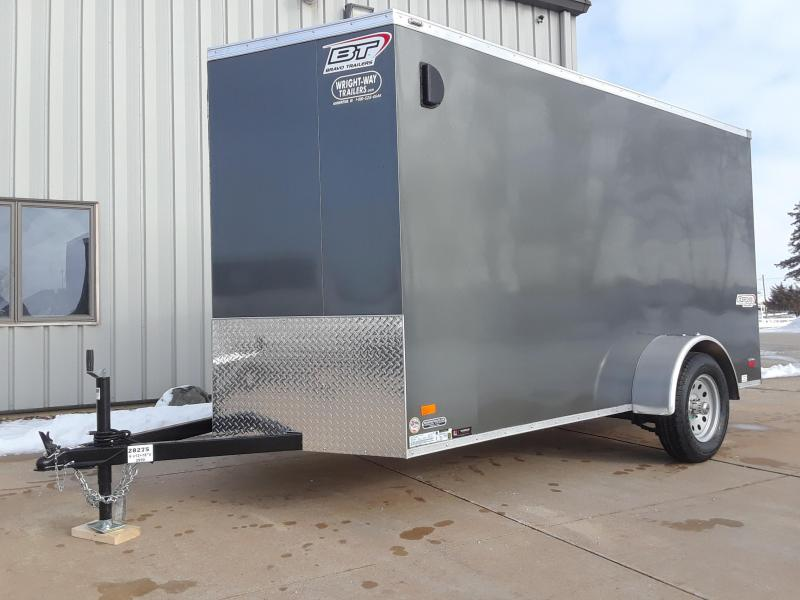 2019 Bravo 6x12 V Nose Enclosed Cargo Trailer
