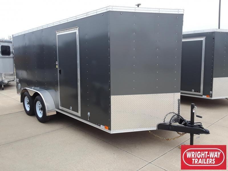 2019 United 7X16 V-Nose Enclosed Cargo Trailer