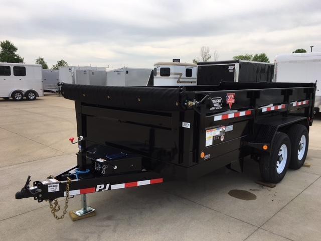 "2019 PJ 14' x 83"" Tandem Axle Dump Trailer"