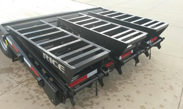 Rice Trailers 102 X 25 Gooseneck Deckover