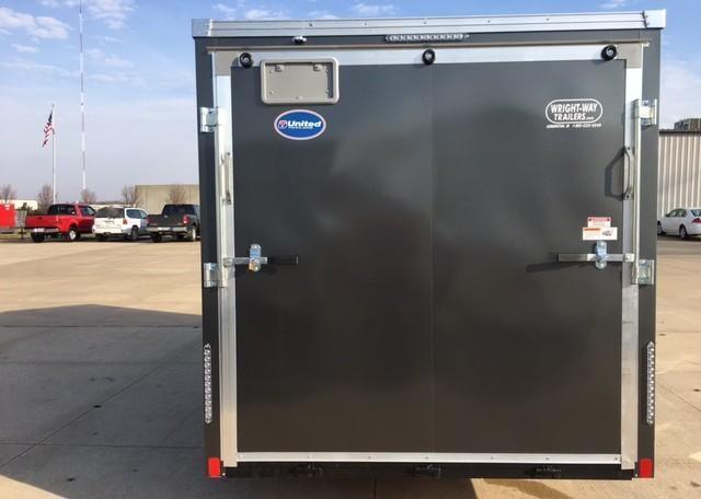 United XLMTV 7 x 14 /Pop Out Enclosed Trailer
