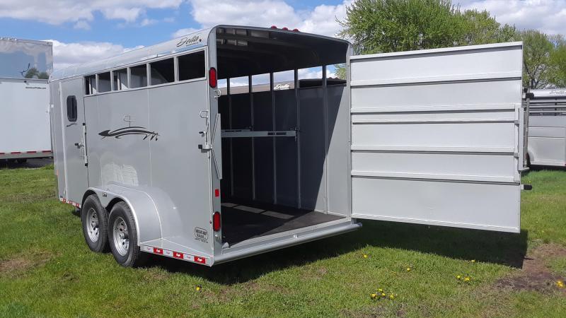 2019 Delta 3 Horse Slant Trailer