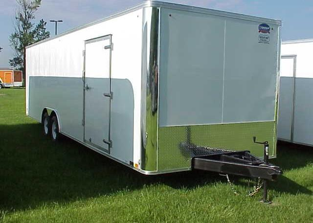 2018 United XLT 8.5 x 28 Enclosed Race Trailer