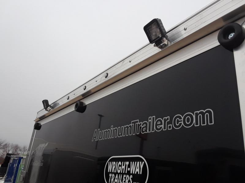 2019 ATC 7x18 Aluminum Snowmobile Trailer