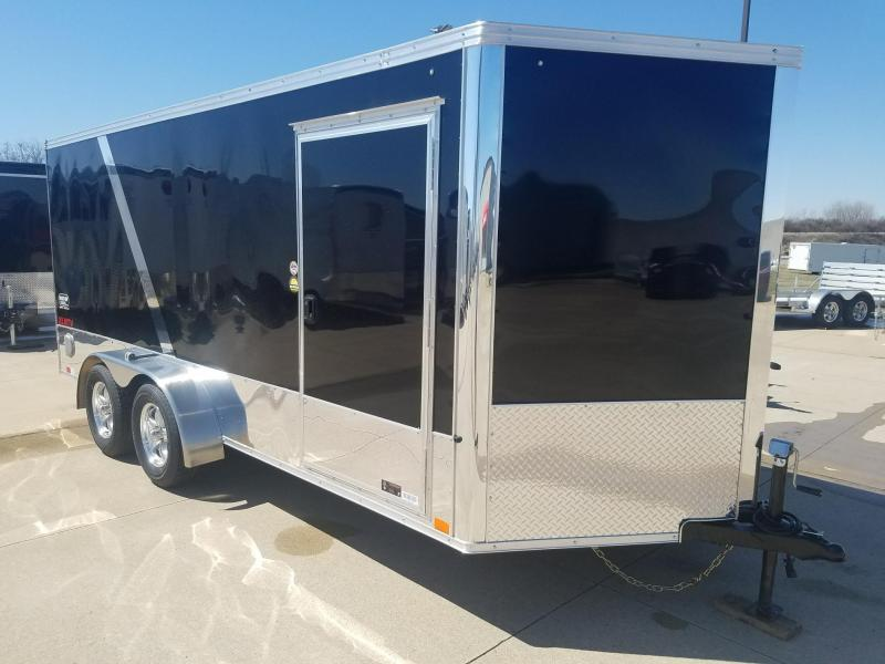 2019 United Trailers 7X16 V-Nose Motorcycle Trailer