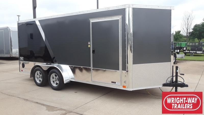 2020 United 7X16 Motorcycle Trailer