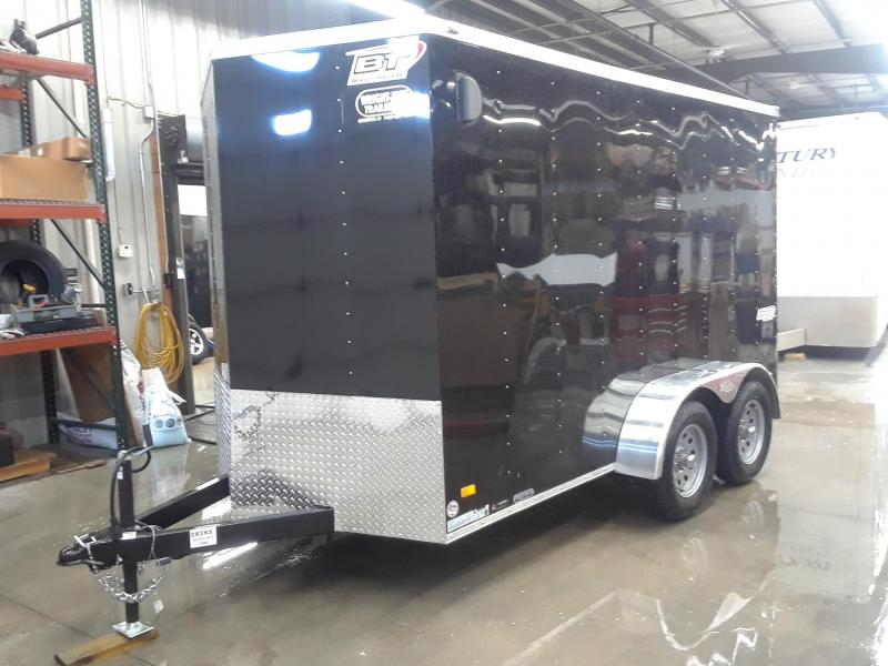 2020 Bravo 6X12 V-Nose Enclosed Cargo Trailer
