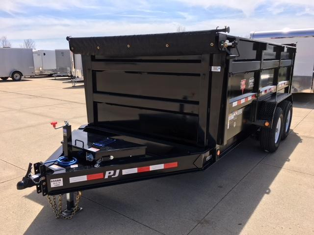 2019 PJ 83 X 14 LOW PRO HIGH SIDE DUMP  Trailer