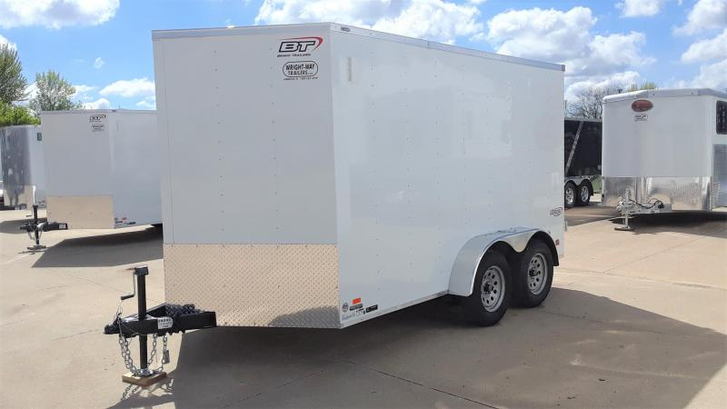 2020 Bravo 7X12 Enclosed Cargo Trailer