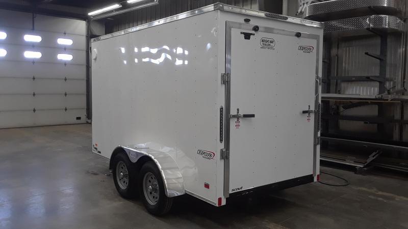 2020 Bravo 6X12 V Nose Enclosed Cargo Trailer