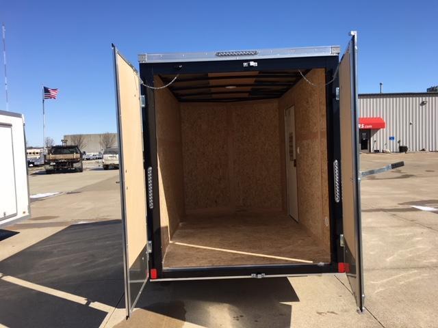 """2019 Bravo Trailers 6 x 10 18"""" V Nose Enclosed Cargo Trailer"""