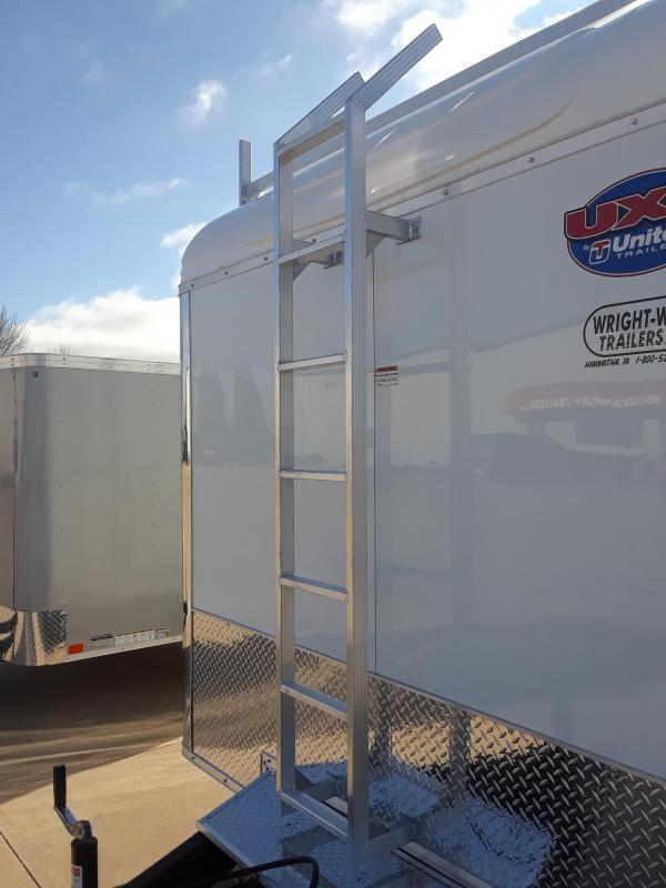 2019 United Trailers 8.5x16 Tool Crib Enclosed Trailer