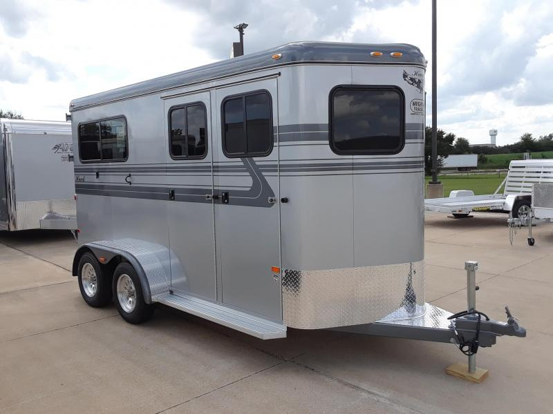 2019 Hawk 6X15 Elite AT-17  2 Horse Trailer