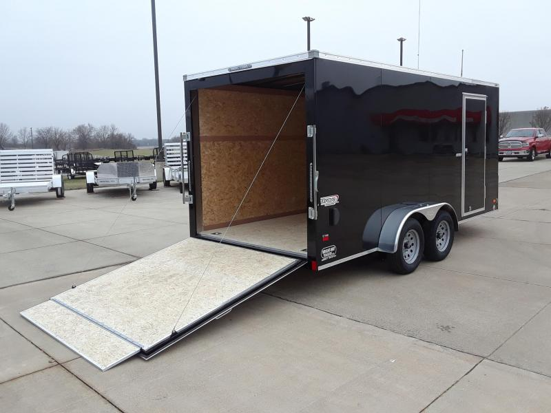 2019 Bravo 7X16 V-Nose Enclosed Cargo Trailer