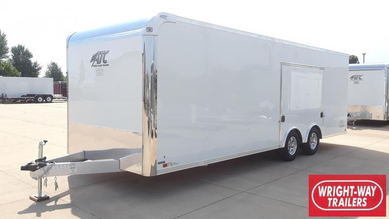 ATC 8.5X24 Aluminum Escape Door Car / Racing Trailer