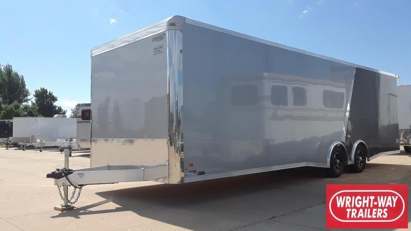 2020 Bravo 8.5X28 Aluminum Car / Racing Trailer