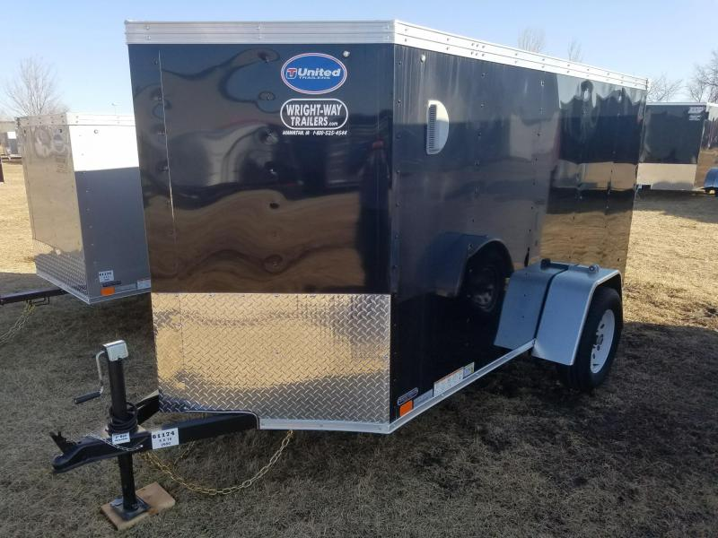 2018 United Trailers 5X10 XLV Enclosed Cargo Trailer