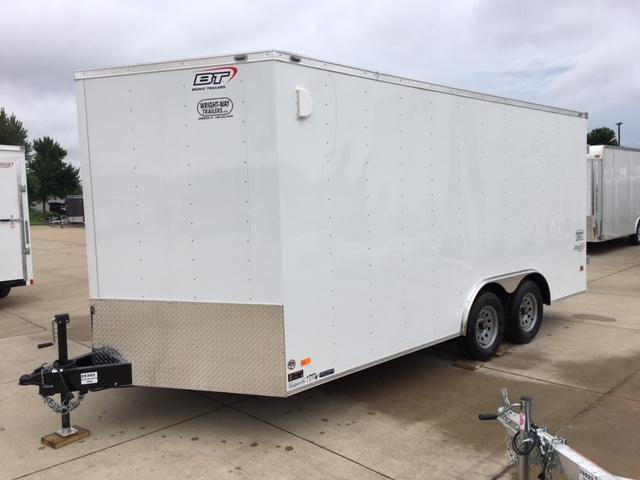 "2019 Bravo 8.5 x 16 w/ 30"" V-Nose Enclosed Cargo Trailer"