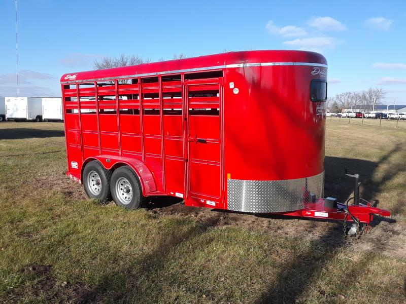 Delta Livestock Stock Trailer 16' in IA