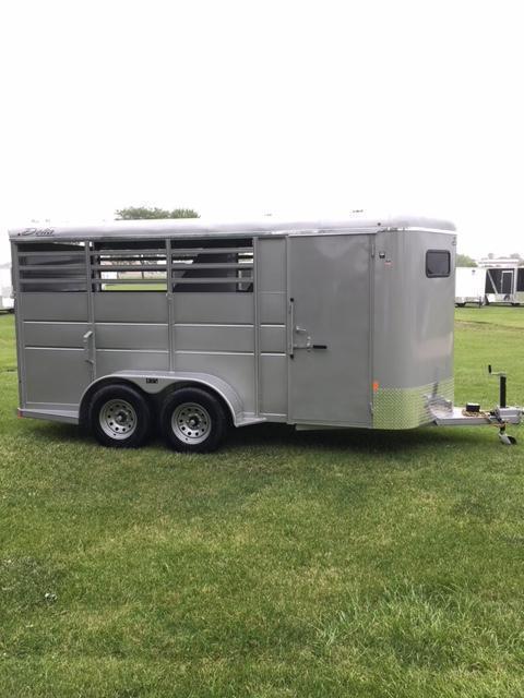 2019 Delta 3 Horse Slant Load Trailer 6x16