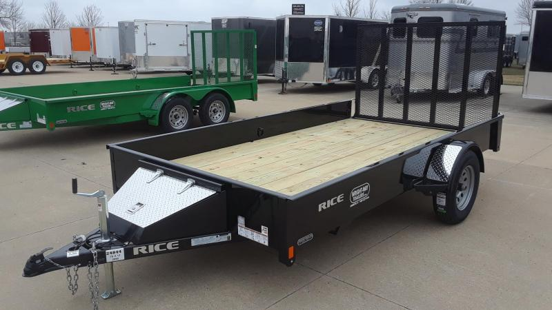 2020 Rice 12' Utility Trailer