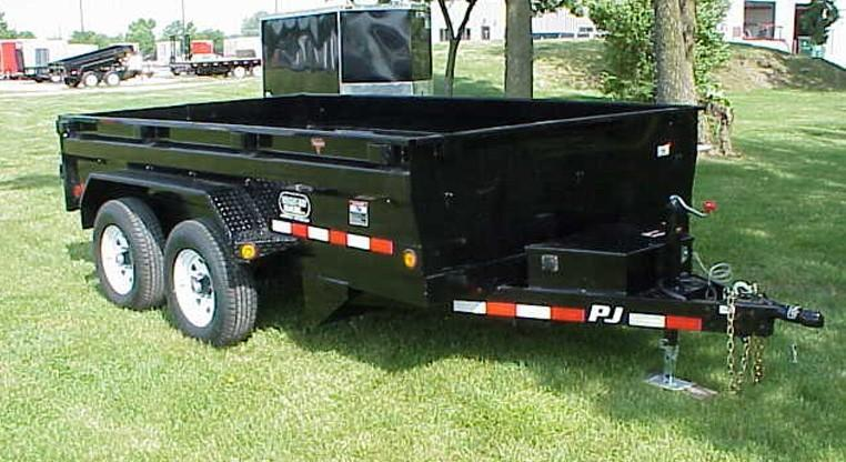 PJ 78 X 12 Medium Duty Dump Trailer