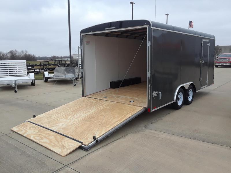 2019 United Trailers 8.5X18 Car / Racing Trailer Enclosed