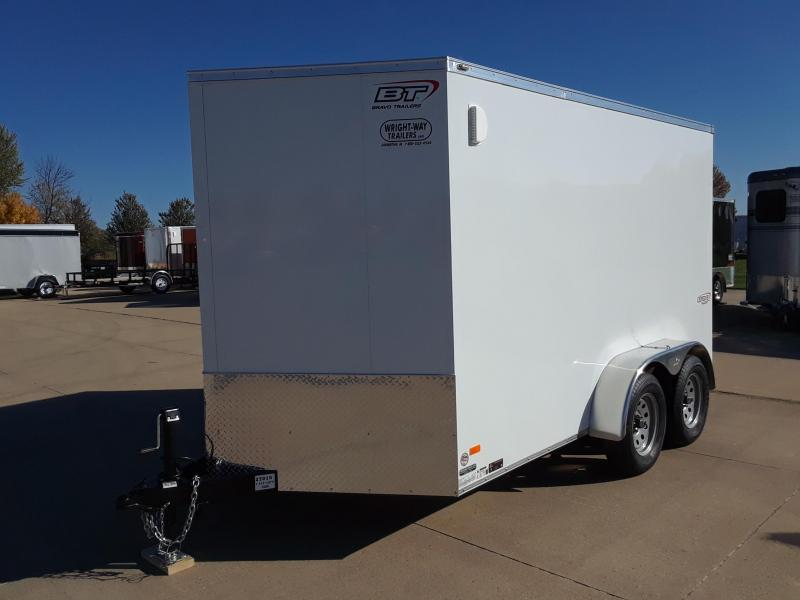 2019 Bravo 7X12 V-Nose Enclosed Cargo Trailer