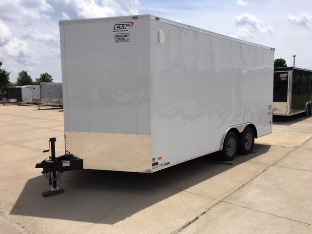 """2019 Bravo 8.5 x 16 + 30"""" V-Nose Enclosed Cargo Trailer"""