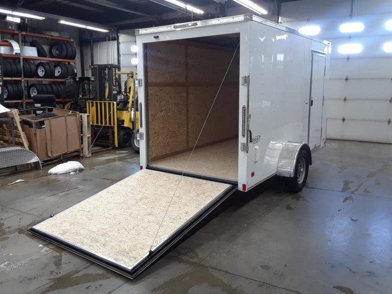 2020 Bravo 6X12 V-Nose Enclosed Cargo Trailer
