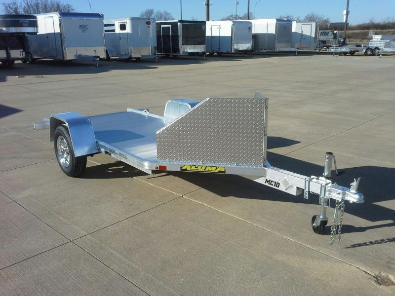 2019 Aluma MC10 10' Aluminum Motorcycle Trailer