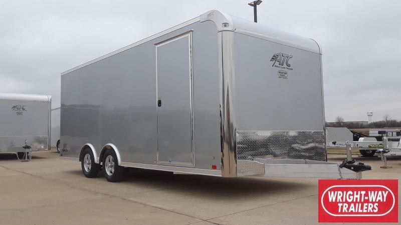 2019 ATC 8.5x20 Aluminum Car / Racing Trailer