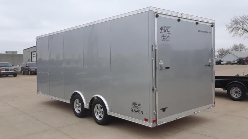 2019 ATC 8.5x20 Aluminum Car / Racing Trailer