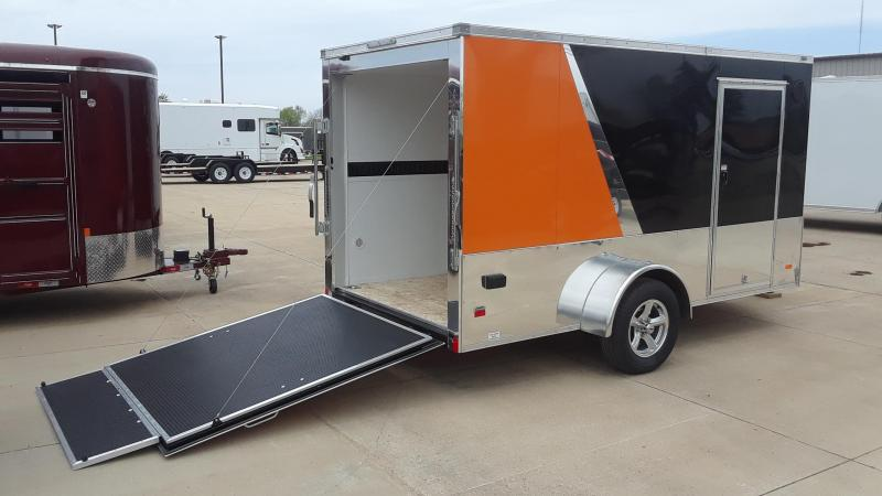 Motorcycle Camping Trailer Custom Design 12'