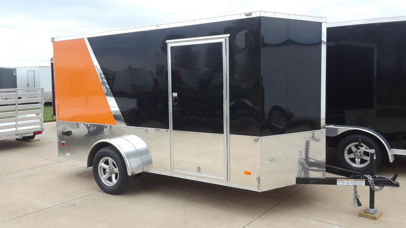 2020 Bravo 6X12 Motorcycle Trailer