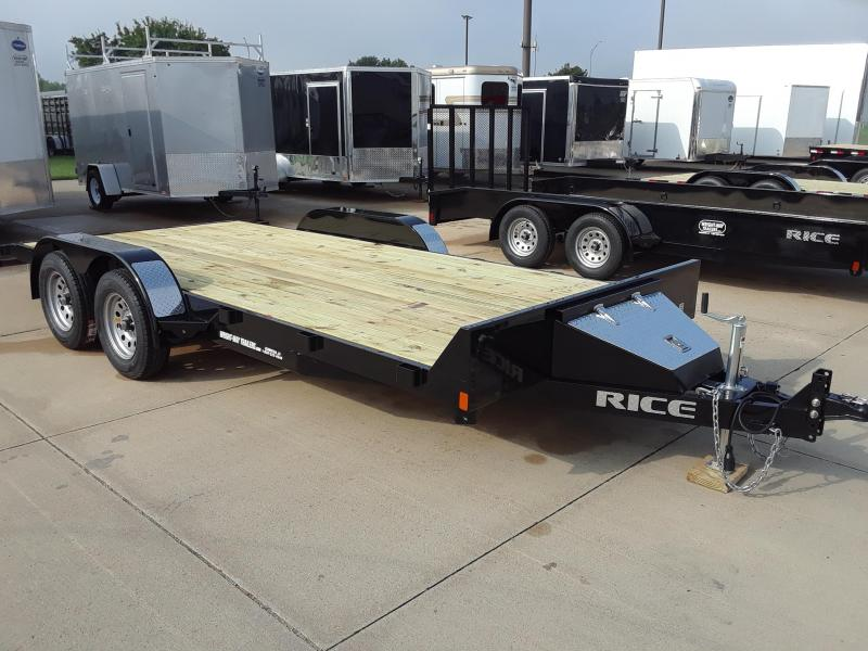 2019 Rice 18' Car / Racing Trailer