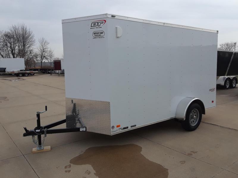 2019 Bravo Trailers 6x12 V Nose Enclosed Cargo Trailer