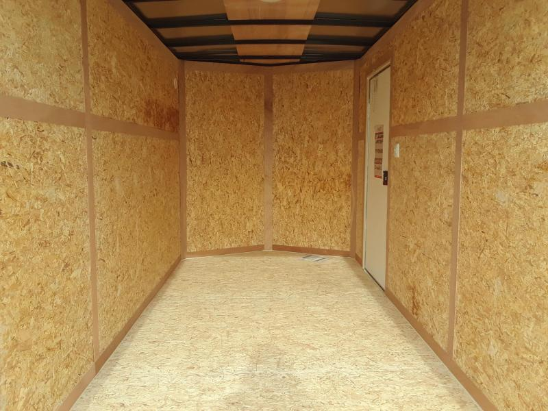 2019 Bravo Trailers 6x12 V Nose Enclosed Cargo Trailer