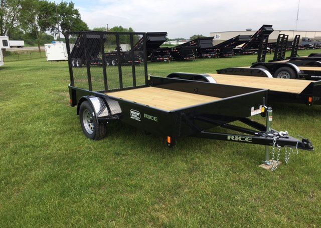 Rice Stealth 76 X 10 Utility Trailer