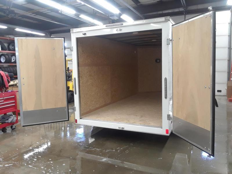 2020 Bravo 7X12 V-Nose Enclosed Cargo Trailer