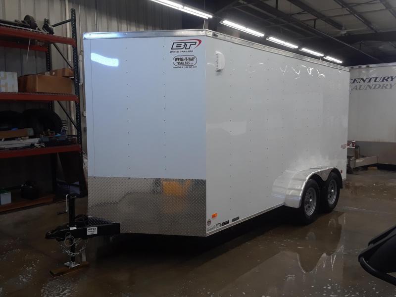 2020 Bravo 7X12 V-Nose Enclosed Cargo Trailer