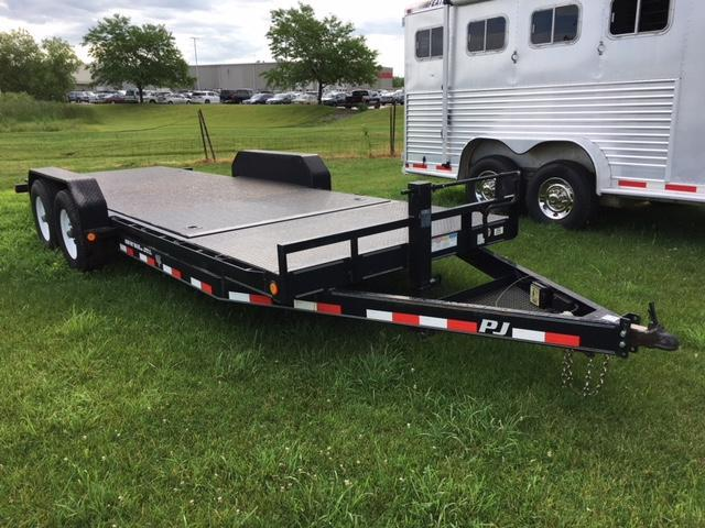 2013 PJ  20 X 6 ( 16' tilt deck) Equipment Tilt Trailer