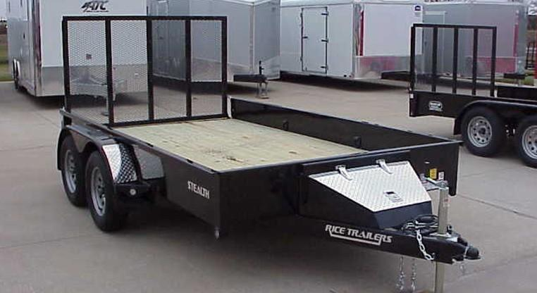 Rice Stealth 82 X 14 Tandem Axle Utility Trailer
