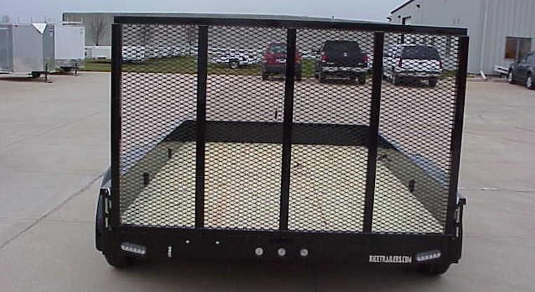 Rice Stealth 82 X 14 Tandem Axle Utility Trailer