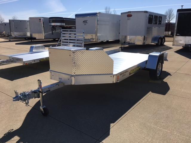 2019 ALUMA UT-12 12' Aluminum ATV / UTV Trailer