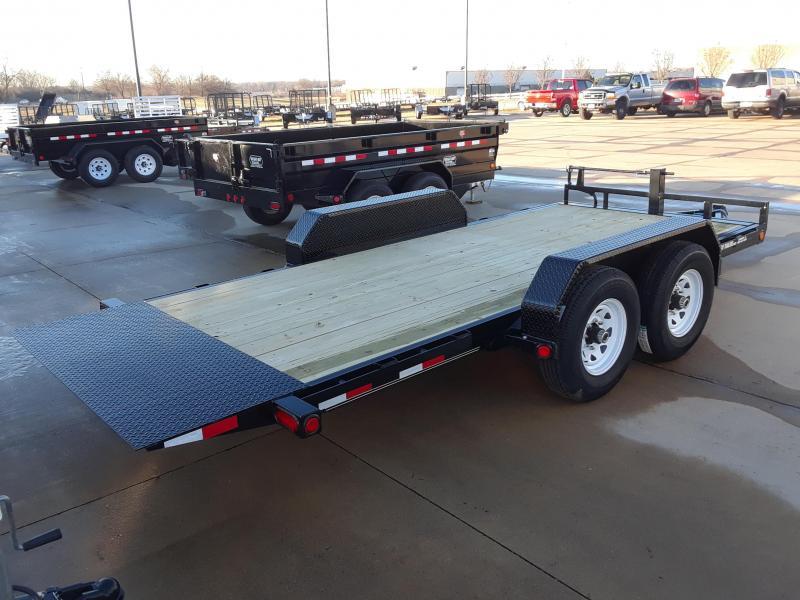 2019 PJ 16' Tilt T6162 Equipment Trailer