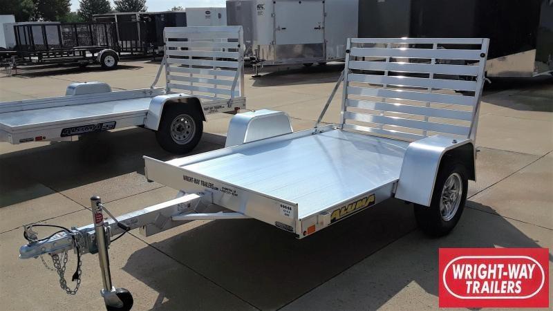 Aluma 638LW 8' Aluminum Utility Trailer