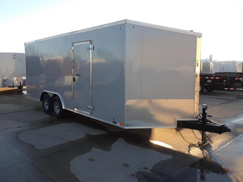 2019 United 8.5x23 V Nose Slant Car / Racing Trailer