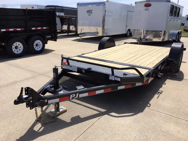 2019 PJ  83 X 16 SINGLE AXLE HEAVY DUTY TILT TRAILER