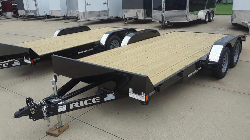 2020 Rice 18' Car / Racing Trailer